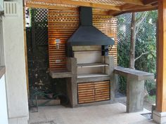 Indoor Patio On A Budget. Patio Design, Exterior Design, Interior And Exterior, Outdoor Life, Outdoor Living, Parrilla Exterior, Garage Exterior, Casa Patio, Outdoor Kitchen Bars