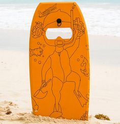 Snorkelboard Adds A Viewing Window To Body Board For Watching Underwater Sights