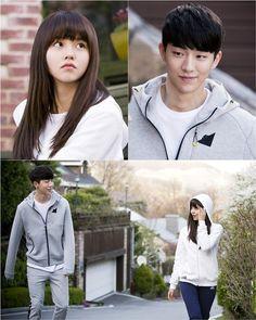 Kim So Hyun and Nam Joo Hyuk are spotted on a jogging date for 'School Drama Korea, Korean Actresses, Actors & Actresses, Kdrama, Who Are You School 2015, Kim So Hyun Fashion, Jong Hyuk, Korean Drama Movies, Korean Dramas