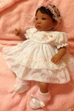 Reborn baby Shyann sculp/Aleina Peterson is ready for her forever home.
