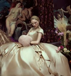 ♥ Romance of the Maiden ♥ couture gowns worthy of a fairytale - 'Golden Gate'  Photography: Andrey & Lili