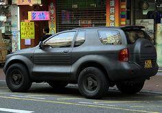 Matte black Isuzu Vehicross. always loved this suv!!