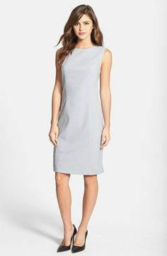 Jones New York 'Mallory' All Season Stretch Sheath Dress available at #Nordstrom