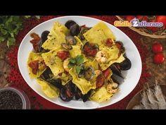 Ravioli di pesce fatti in casa con sogliola e orata, la ricetta di Giallozafferano - YouTube