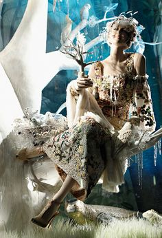 Bergdorf Goodman's Holidays on Ice Windows for Christmas 2013