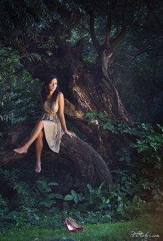 Magic portrait photo of Veronika