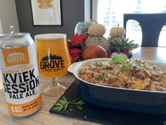 Grove Brew Flatland Fever KVIEK Session Pale Ale with Roasted Cauliflower Mac & Cheese. Cauliflower Mac And Cheese, Roasted Cauliflower, Essex County, Whole Wheat Bread, Stuffed Pasta Shells, Mac Cheese, Smoked Paprika, Wineries, How To Cook Pasta