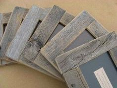 how to make a picture frame out of wood - Google Search