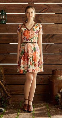 Só na Antix Store você encontra Vestido Vintage Floral com exclusividade na internet