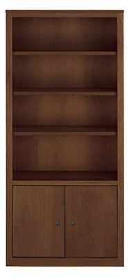Woodwind 48h-86h Bookcases with Doors - Bookcases & Shelves - Office - Room & Board 72x72x17  $1299