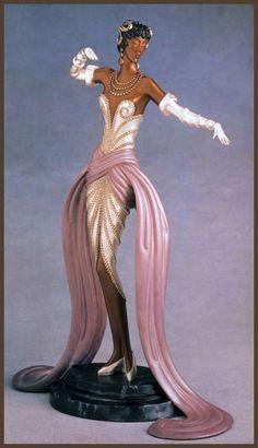 Erte Art Deco Figurine 'Belle du Bal'--omg another MUST HAVE!