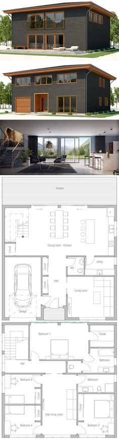 161 Best Interesting Floor Plans Images Floor Plans House