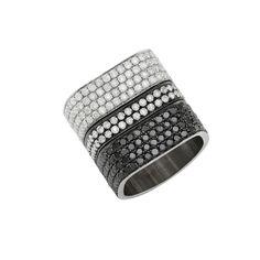 Portia Wide Square Ring #shawnwarrenjewelry