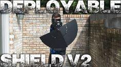Deployable Shield v2 - Percy Jackson / Ironman Shield