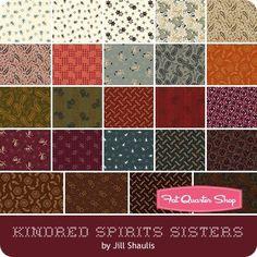 Kindred Spirits Sisters Fat Quarter Bundle Jill Shaulis for Windham Fabrics | Fat Quarter Shop