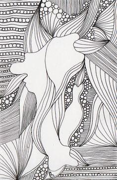 creature -illustration  by Piia Myller