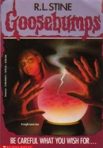 Goosebumps! - MUST get these for our kid... I LOVED my Goosebumps!