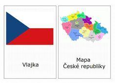 Symboly Česka - kartičky – (Mujblog.info v3.1) Czech Republic, Geography, Preschool, Science, Blog, Prague, Milan, Travel, Projects