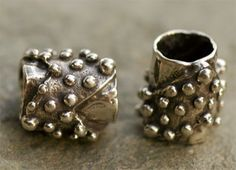 Handcrafted Artisan Sterling Silver BUMPY TEXTURED by cathydailey, $24.28