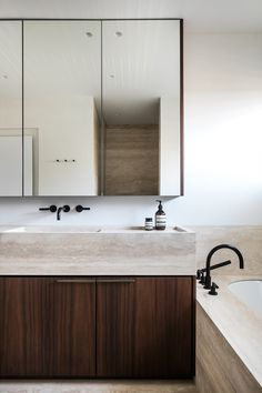 Modern kitchen and bathroom remodel - desire to inspire - desiretoinspire.net