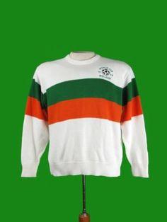 9adf3bcb6 Ireland world cup soccer st patricks day sweater m l