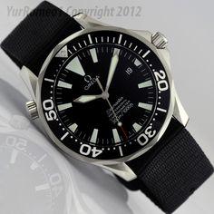 Omega Seamaster Professional Chronometer Automatic 300m Black Dial 2254.50 - Best Omega Ever!
