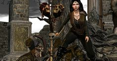 Emo-tions, Azuchi, Cellar Door and EZ eaponry @ We Love Roleplay http://thegoodgorean.blogspot.com/2015/11/the-warrior-maiden.html