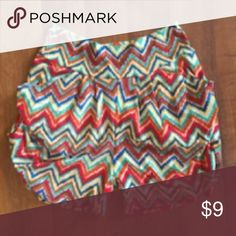 Chevron Harem Shorts New! Comfy and stretchy. One size fits most (0-10) Shorts