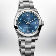 Discover the Oyster Perpetual 36 watch in Oystersteel on the Official Rolex Website. Rolex Oyster Perpetual, Latest Watches, Cool Watches, Luxury Watches, Rolex Watches, Hermes Watch, Cartier Santos, Pre Owned Rolex, New Rolex