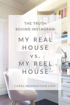 Do you ever feel discouraged when you see these perfectly coifed houses when you scroll through Instagram or Pinterest? I'll shed more light on REAL VS. (highlight) REEL … and I'll sprinkle in photos of my REAL house vs. my (Instagram) REEL house! Interior Decorating Tips, Interior Design Tips, Decorating Your Home, Entry Way Design, Foyer Design, Laundry Room Design, Laundry Rooms, Neutral Bedrooms, Living Room Photos
