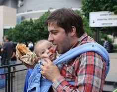 Gallerie Immagini e Video divertenti del Giorno Non lasciare i figli soli con il babbo (19 Foto)