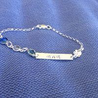 Hand Stamped, Unique Gifts, Personalized Items, Chain, Bracelets, Silver, Jewelry, Jewlery, Money