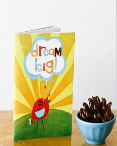 For little ones to write about their dreams.