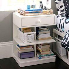 Teen Bedding, Furniture & Decor for Teen Bedrooms & Dorm Rooms Decor, Furniture, Home Organization, Room, Room Design, Home Furniture, Furniture Decor, Home Deco, Bedside Table