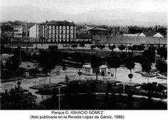 Parque D.Ignacio Gómez,actual Antonio Machado.Miranda de Ebro.