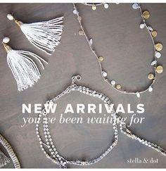 New Spring Arrivals! www.stelladot.com/Ashleighcotter to shop online!!