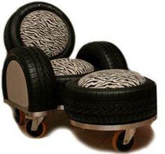 sillones de llantas recicladas - Buscar con Google Llantas Recicladas 9b37c33028c