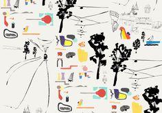 Hotel Indigo Wallpaper by Linda Linko | Agent Pekka