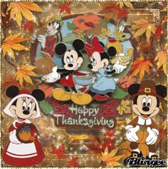 Happy Thanksgiving with Disney