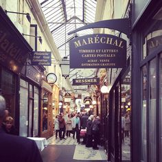 Passage des Panoramas isn't just the oldest covered passage in Paris—it's one of the oldest in all of Europe. It's one of the most charming and lively passages in the city and is today home to many small restaurants, cafés, as well as old postcard shops that are worth rummaging around in.