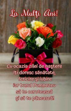 Happy Birthday Images, Motto, Flowers, Design, Birthday, Happy Birthday Pictures, Royal Icing Flowers, Mottos