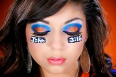 Tim Tebow Makeup Fashion/Style DIY