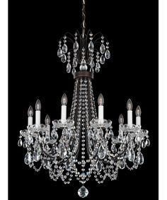 Schonbek LU0003 Lucia 25 Inch Single Tier Chandelier