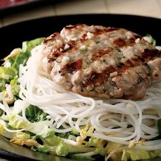 Hanoi-Style Tuna Patty Salad