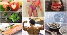 Para ganhar músculos e perder gordura, você precisa de uma variedade de proteínas, legumes, frutas, ... - Receitas sem Fronteiras