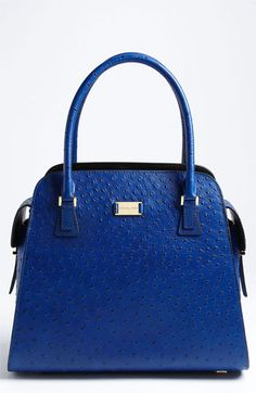 Michael Kors 'Gia' Ostrich Embossed Satchel available at #Nordstrom