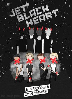 I've got a jet black heart and there's a huracane underneath it trying keep us apart