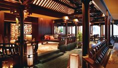 The elegant Cherry Garden restaurant serves classic Cantonese food @ Mandarin Oriental. 5 Raffles Ave, Marina Square, Singapore 039797, Singapore