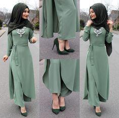 Anzeige l Werbung Shoes / Schuhe / Ayakkabilar - . Abaya Fashion, Modest Fashion, Fashion Dresses, Fashion Muslimah, Muslim Women Fashion, Islamic Fashion, Mode Abaya, Dress Indian Style, Designs For Dresses