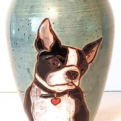 Boston Terrier Dog Ash Urn - Spiritpet Urns